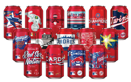 Budweiser Releases Locally-Inspired Team Cans
