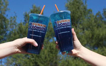 Dunkin' Donuts Offers Energy Punch Powered By Monster Energy