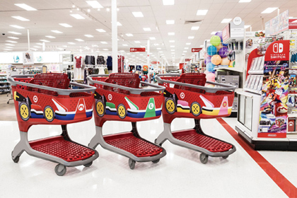 Mario Kart 8 For Nintendo Switch Launches At Target