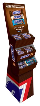 SNICKERS Displays Support 'Hunger Bars' Promotion