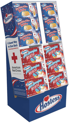 Hostess Launches Star-Spangled Line Of Summer Snacks