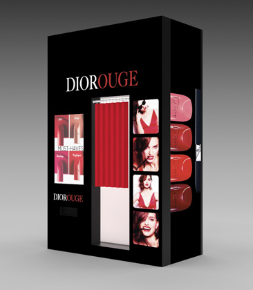 Parfums Christian Dior Uses Photo Booth To Support Rouge Dior Lip Color Collection Launch