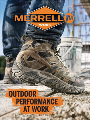 Merrell Introduces New Work & Tactical Footwear