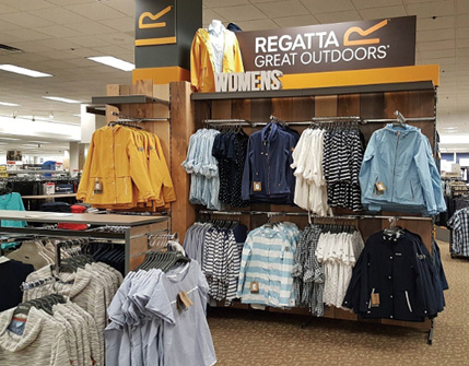 Regatta Great Outdoors Makes American Debut In Sears Stores