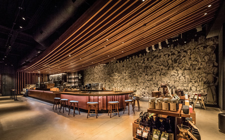 Starbucks Reserve Bar Opens In Chicago's Wrigleyville Neighborhood