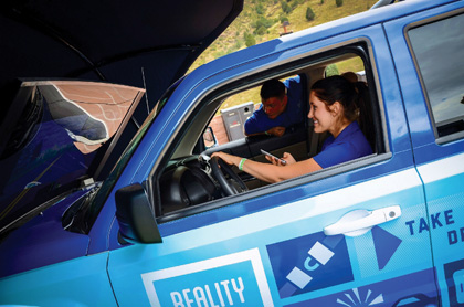 Allstate Conducts Reality Rides Tou