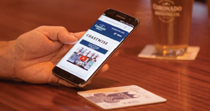 Coronado Brewing Uses Coasters With Thinfilm's Technology