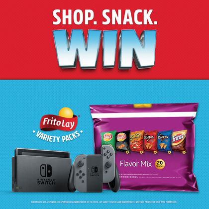 Frito-Lay Conducts Nintendo Switch System Promotion