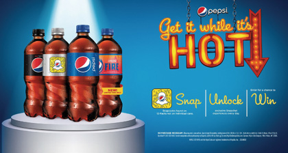Pepsi Releases Limited-Edition Pepsi Fire