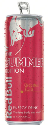 Red Bull Summer  Grapefruit Twist Launches Nationwide