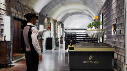 Rémy Martin Launches HoloLens Experience