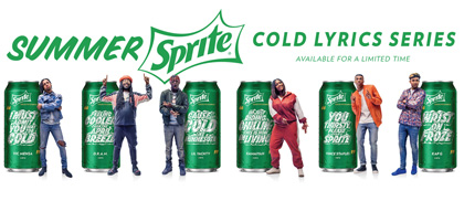 Sprite Refreshes Fans With Cold Lyrics Series Summer Promotion