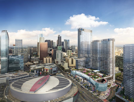 Oceanwide Plaza To Open As Los Angeles' Newest Residential & Shopping Destination