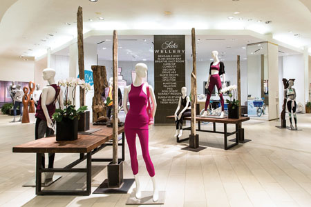 Saks Fifth Avenue Opens The Wellery At New York Flagship Store