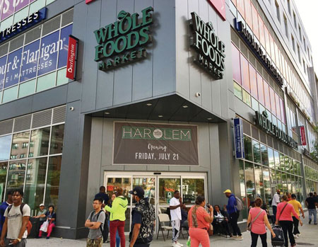 Whole Foods Market Opens In Harlem