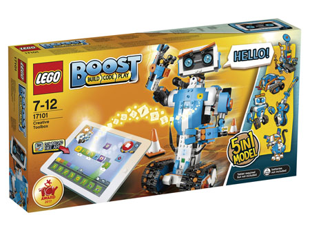 LEGO Introduces BOOST