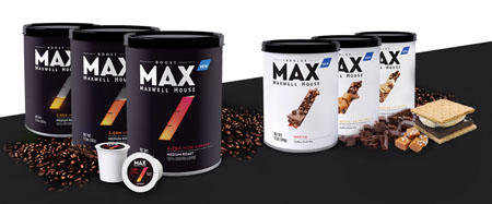 Maxwell House Launches Max