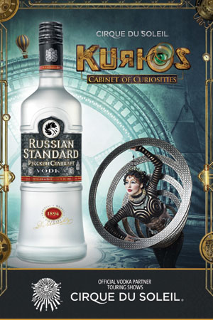 Russian Standard Vodka Signs On With Cirque du Soleil