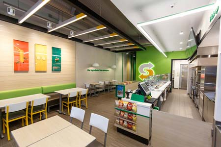 Subway Rolls Out 'Fresh Forward' Design