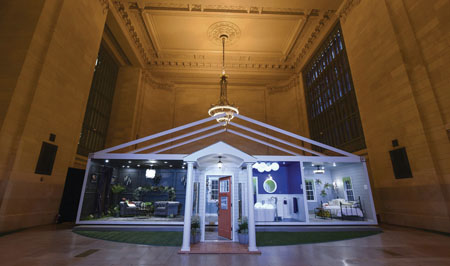 Behr Paint Opens Pop-Up Trend Home In NYC