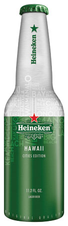 Heineken Unveils New Aluminum Bottle