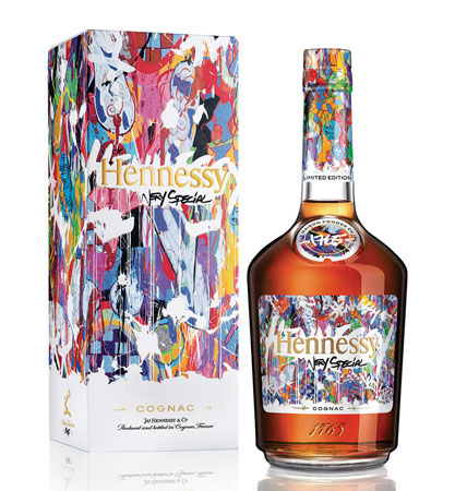 Hennessy Commissions Artist JonOne For  Limited Edition Bottle