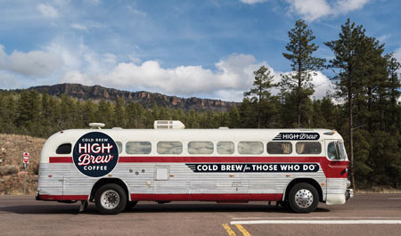 Custom High Brew Liner Embarks On  High Road Tour