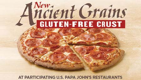 Gluten-Free Crust Now Available At Papa John's
