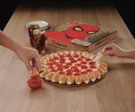 Pizza Hut Conducts  Spider-Man Promotion