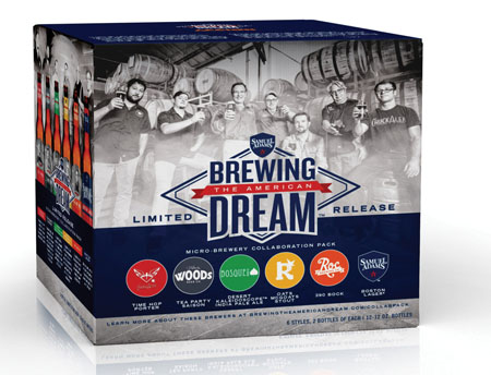 Samuel Adams Launches  American Dream Pack