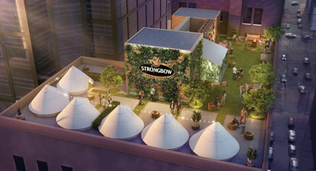 Strongbow's Orchard Glampground Brings  Camping To Toronto