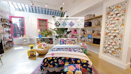Vera Bradley Uses Virtual Reality In-Store Experience To Debut Bedding Collection