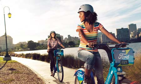 Ford GoBike Launching In Bay Area