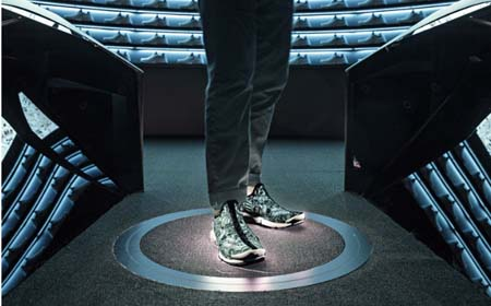 Nike Introduces Live-Design Experience