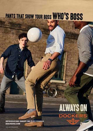 The Dockers Brand Launches 'Always On,'  Global Creative Platform