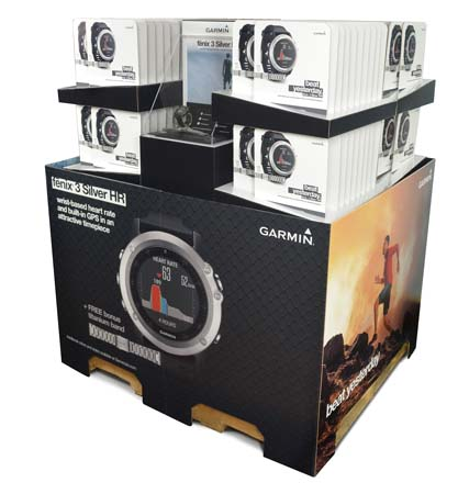 Garmin Fenix Pallet Featured In Sam's Club