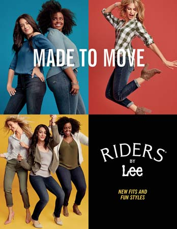 Riders By Lee Launches Made To Move Campaign