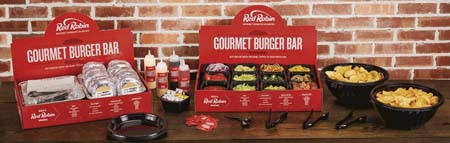 Red Robin Launches Gourmet Burger Bar