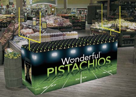 Wonderful Pistachios Displays Kickoff Game-Day Promotion