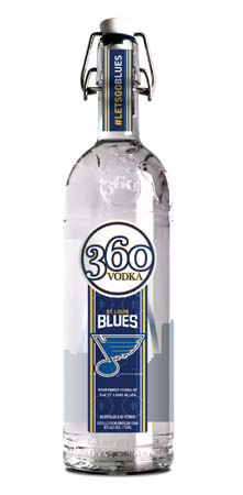 360 Vodka Forms Partnership With St. Louis Blues, Unveils Limited Edition Bottle