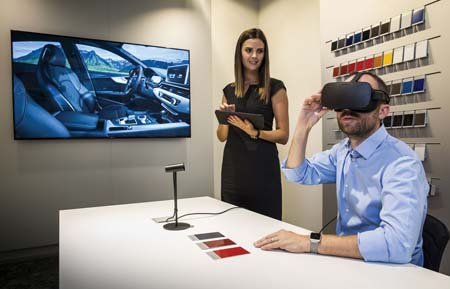 Audi Launches Virtual Reality In Dealerships