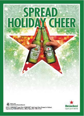 Heineken Conducts Holiday Promotion