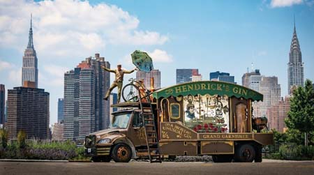 Hendrick's Gin Travels Cross-Country With Giant Cucumber