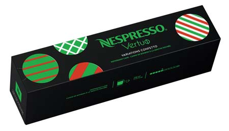 Nespresso Reveals  Limited Edition Holiday Collection