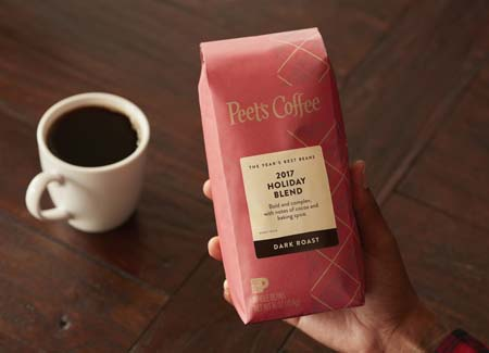 Peet's Coffee Unveils Holiday Blends