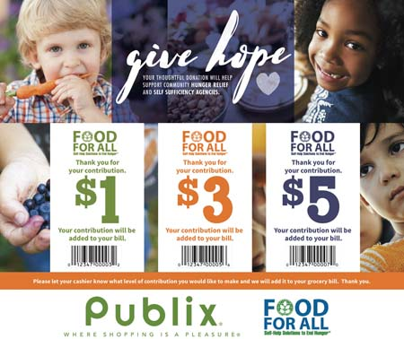 Publix Launches Annual Food For All Fundraiser