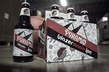 Pyramid Brewing Celebrates Portland Trail Blazer Season With Blazermania IPA