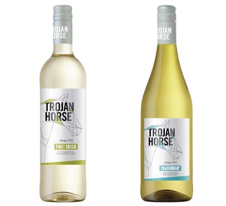 Trojan Horse Brand Adds Two White Wines