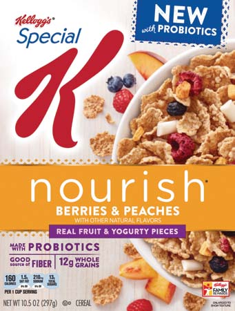 Special K Debuts New Cereal Made With Probiotics