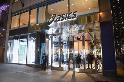 ASICS Opens First Flagship Retail Location In NYC